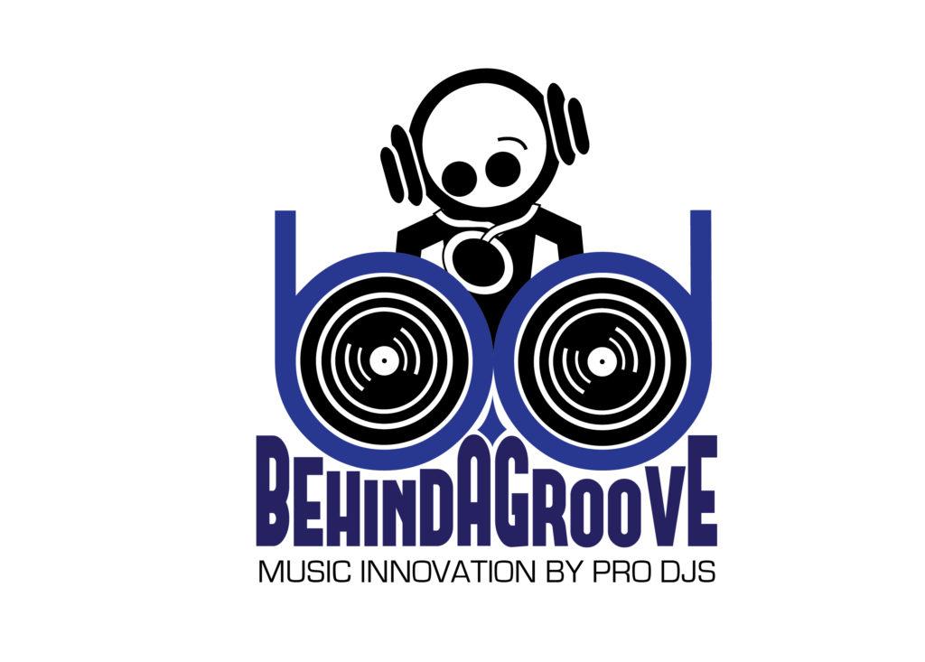 BEHIND A GROOVE Logo BAG Radio