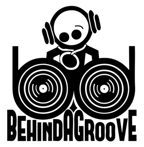 BEHIND A GROOVE Logo BAG Radio