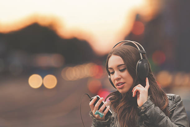 listening to bag radio